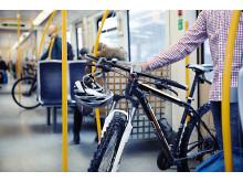 Sykkel på T-banen