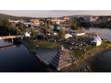 Mellanholmen - evenemangsö i Nattviken