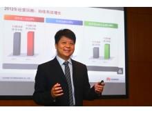 Guo Ping, roterande VD, Huawei Global