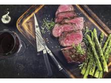 Perfekt mørt og saftigt kød med sous vide tilberedning.