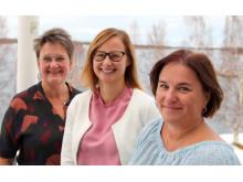 Ewa Karlsson Sjölander, Linda Stenström och Helena Magnusson