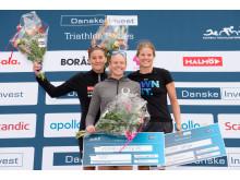SM-pallen damer fr v Annie Thorén, Mikaela Persson, Emma Varga_foto Magnus Dickson