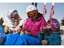 Familjepaus i backen Oslo Vinterpark