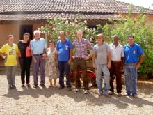 Martin Löfberg besöker kooperativet COOPASV, Brasilien