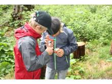 Erforschen und entdecken im Valbella Inn Resort Waldkindergarten