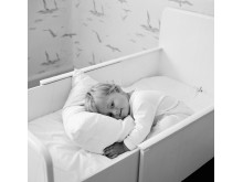 Egen säng, 1950-tal. Foto Ateljé Bellander, © Nordiska museet.