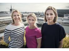 Malin Picha Edwardsson, Matilda E Hanson och Anna Careborg