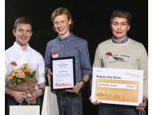 Mälarhöjdensskola, Stockholm, vann Future City Minecraft 2015/2016