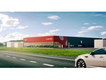 Ny Kia-anläggning för Hedin Bil i Göteborg