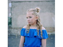 Leah on her Primary 7 Prom Night