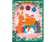 MultiFit Adventskalender für Nager + Zwergkaninchen, UVP: 4,99 €