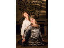 Press photo: Raffaella Milanesi, Miah Persson. Mitridate, Drottningholms Slottsteater 2014
