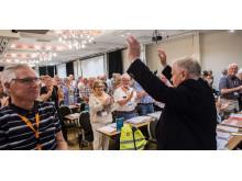 Jan Davidsen gjenvalgt som leder i Pensjonistforbundet.