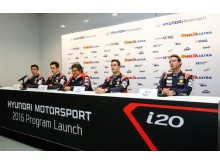 New Generation Hyundai i20 WRC press conference