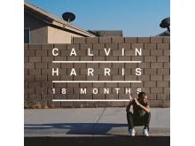 Calvin Harris - 18 Months albumomslag