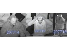 Images of the three men police wish to speak with