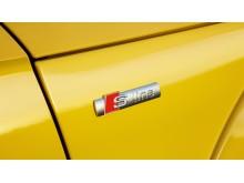 Audi TT Roadster (vegasgul) S-line logo