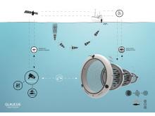 """""""Glaucus - intelligentes Fischernetz"""" von Andrea Meyer, Muthesius Kunsthochschule Kiel"""