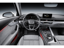 Audi A4 allroad quattro interiör medium