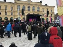 Välkomstfest i Karlstad