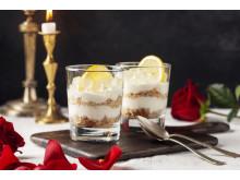 Cheesecake med GT-gelé