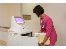 Panasonic Medical Robots HOSPI can deliver up to 20kg of goods