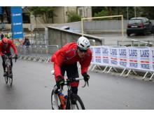 Daniel Hoelgaard under sykkel-VM i Bergen