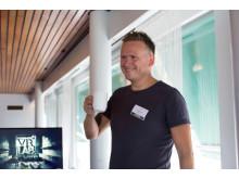 Kåre Vegar Sund i Trainor har stor tro på VR i sikkerhetsopplæring. Foto: Trainor AS