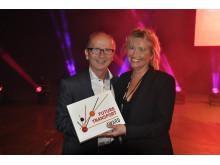 Västtrafik vinnare av Future Transport Award