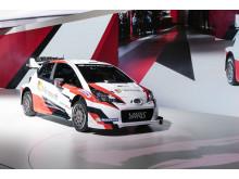 Nya Yaris WRC markerar Toyotas återkomst i rally efter 17 år.
