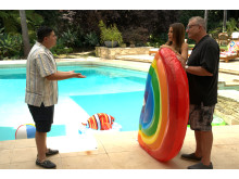 Rico Rodriguez, Sofia Vergara och Ed O´Neill i  Modern Family säsongspremiär på FOX söndag den 28/10 kl 21.00.
