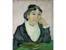 Vincent van Gogh L'Arlésienne (Madame Ginoux), februari 1890 Olieverf op doek, 60 x 50 cm