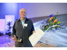 Tomas Lundälv emottar Naturvårdspriset 2012