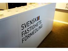 Svensk Fastighetsförmedling, logo på disk