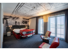 V8 Hotel Cologne@MOTORWORLD, Room Fiat