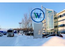 Wibax huvudkontor, vinter