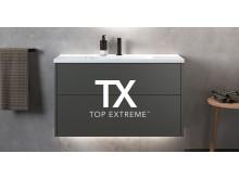 TX Top Extreme pintakäsittely