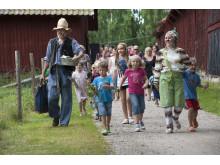 Häng med Pettson och Findus på gården. Foto: Peter Segemark, Nordiska museet