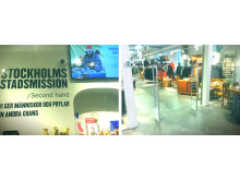 Gate Security har tecknat avtal med Stockholms Stadsmission Second hand