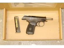 Recovered pistol
