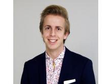 Felix Tellander, Anders Wall-stipendiat 2019