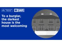 BE SAFE Exterior lights