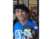 Saber Alipanah är konstnärlig ledare från Mosaikfabriken