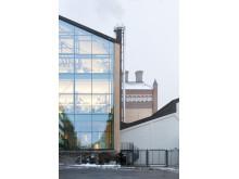 Stora Bryggeriet Hornsberg - extriör