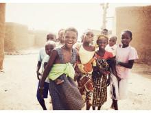 Flickor i Mali