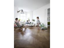 Wood Floor Makeover - Ny fräsch yta