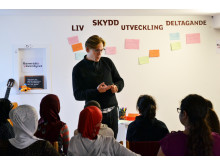 Erik Mjönes berättar om barnkonventionen