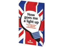 now goes me a light up - lustiges Spiel um englische Redewendungen