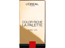 L'Oréal Paris Color Riche Lip Palette, rouge