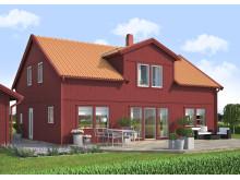 Villa Björkö, modern - baksida
